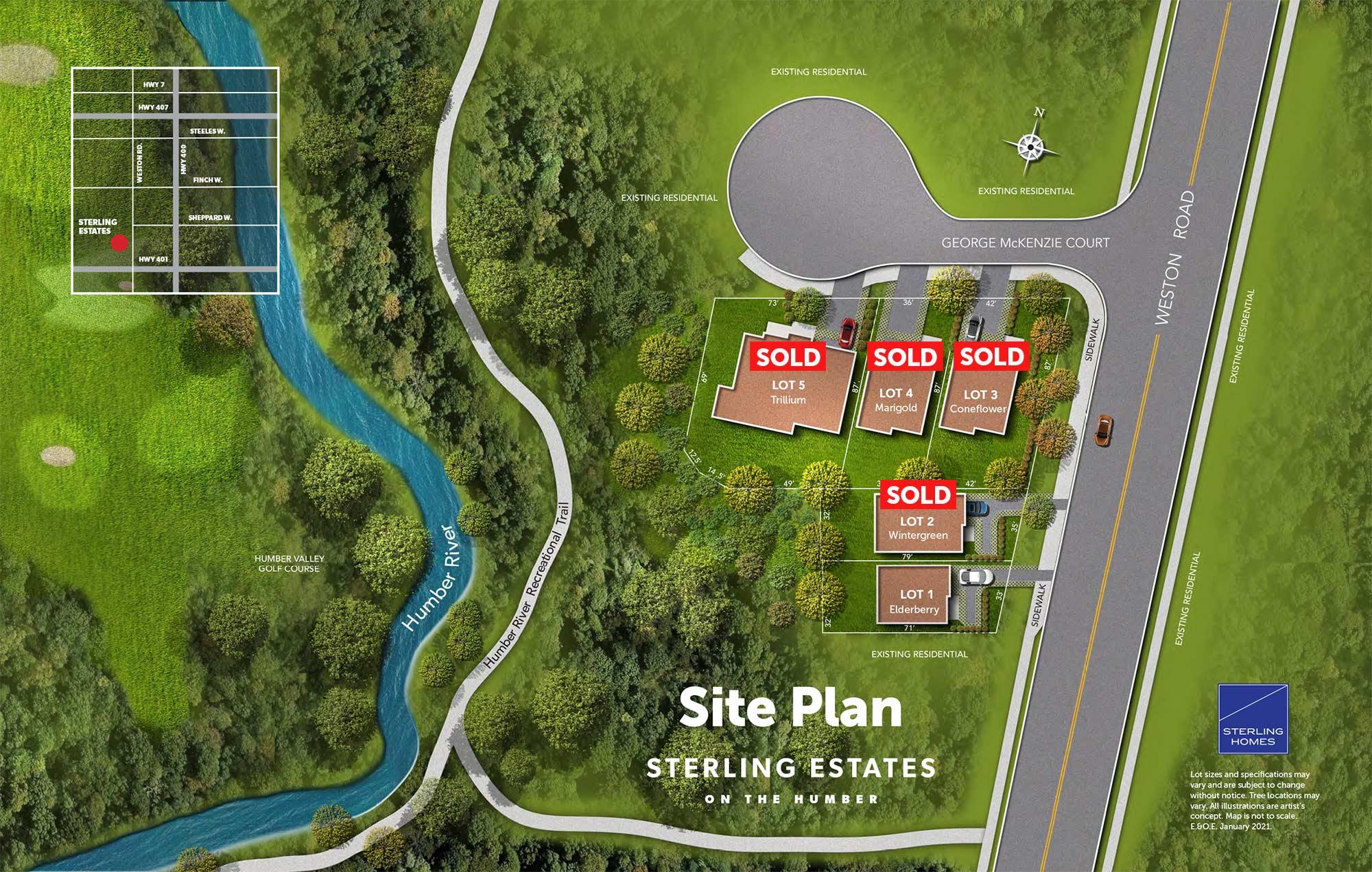 Sterling Humber site plan sep.21